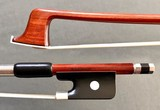 Brazilian ELIAS GUASTI viola bow, nickel/ebony