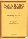Carl Fischer Bang, Maia: Violin Method Part 6, Bowing (violin)