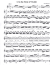 Alfred Music Barlowe, Amy: 12 Etude-Caprices in the Styles of the Great Composers (violin)