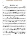 HAL LEONARD Haydn, F.J. (Lohmann/Thomas, ed.): Concerto in A major, Hob. VIIa: 3, urtext (violin & piano)