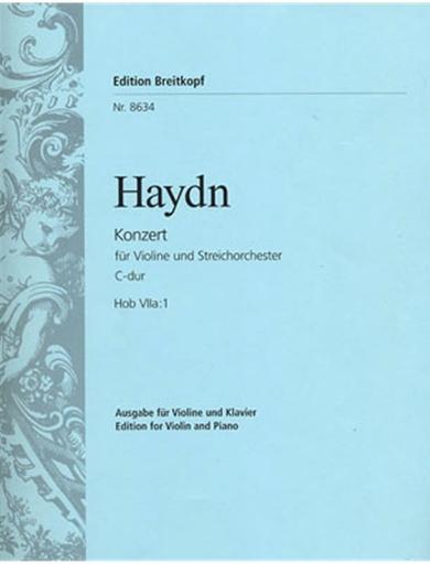 Haydn, F.J. (Bernstein/Zehetmair): Violin Concerto in C  Hob VIIa: 1 (violin & piano)