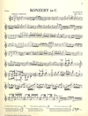 HAL LEONARD Haydn, F.J. (Lohmann/Thomas, ed.): Concerto in C, Hob. VIIa: 1, urtext (violin & piano)