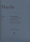 HAL LEONARD Haydn, F.J. (Lohmann/Thomas): Concerto in G Major, Hob.VII: 4 - URTEXT (violin & piano) Henle