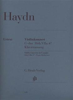 Haydn, F.J. (Lohmann/Thomas): Concerto in G Major, Hob.VII: 4 - URTEXT (violin & piano) Henle