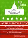 Heffler, R.: Thank You, Lord (violin & piano)