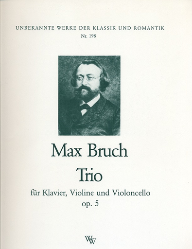 Bruch, Max: Trio in C minor Op.5 (violin, Cello, Piano)
