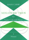 Stainer & Bell Ltd. Carse: Miniature Trios - Minuet (piano trio) Stainer & Bell