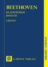 HAL LEONARD Beethoven, L.van (Klugmann, ed.): Piano Trios, Vol.3, urtext (score)