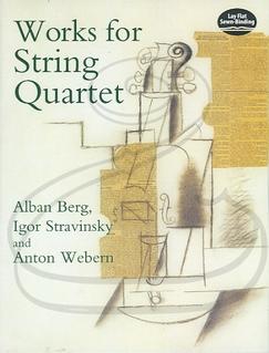 Dover Publications Berg, Stravinsky, & Webern: (score) Works for String Quartet (string quartet) Dover Publications