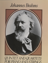 Dover Publications Brahms, J.: (Dover Score) Quintet and Quartets for Piano and Strings (mixed ensemble)