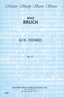 LudwigMasters Bruch, M.: (Score) Kol Nidrei, Op. 47 (cello, orchestra)