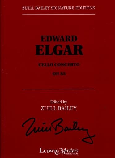 LudwigMasters Elgar, Edward (Bailey, ed.): Cello Concerto, Op. 85 (cello & piano)