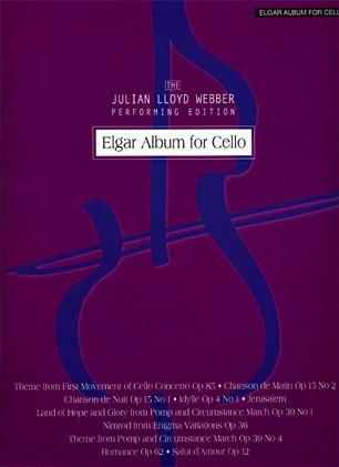 Elgar, Edward: The Julian Lloyd Webber Performing Edition Elgar Album for Cello