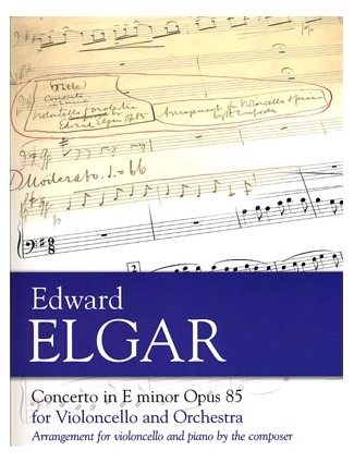 HAL LEONARD Elgar, Edward: Cello Concerto Op.85 (cello & piano)