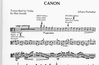 Pachelbel (Arnold): Canon (3 violas & piano)