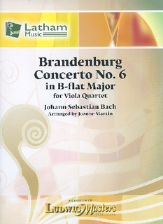 Bach, J.S. (Martin, arr.): Brandenburg Concerto No. 6 in B-flat Major (4 violas)