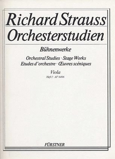 HAL LEONARD Strauss, R. (Gentz, ed.): Orchestral Studies, Book 1 (Viola 1, 2, & 3)