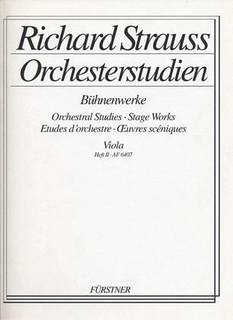 HAL LEONARD Strauss, Richard: Orchestral Stage Works 2 (viola) Salome