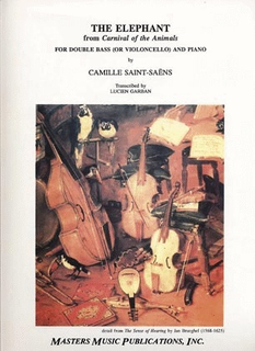 LudwigMasters Saint-Saens, Camille: Elephant from Carnival of the Animals (cello or & piano)