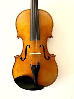 Otto Musica OTTO antiqued light orange-brown model 488 violin with European wood, 2017