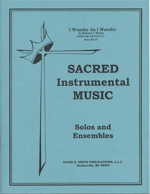 Barber, R.J.: I Wonder As I Wander (Violin & Piano)