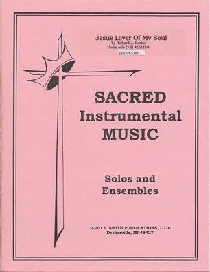 Barber, E.: Jesus Lover of My Soul (violin & piano)