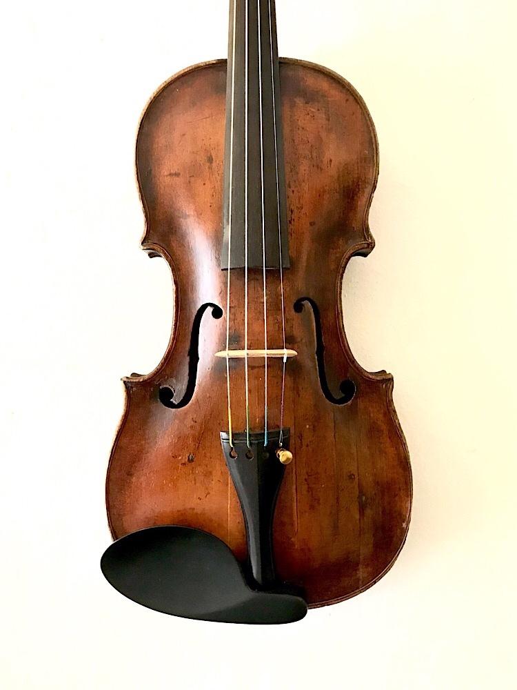 Old German 4/4 violin, 1820's, Hopf school, AS-iS