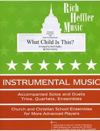 Heffler, R.: What Child is This?(violin & piano)