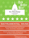 Heffler, R.: We Three Kings (violin & piano)