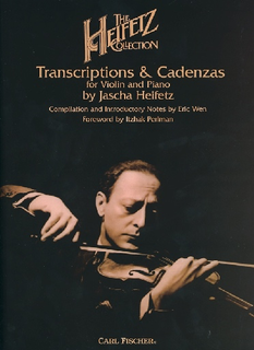 Carl Fischer Heifetz: The Heifetz Collection, Transcriptions & Cadenzas (violin & piano) FISCHER