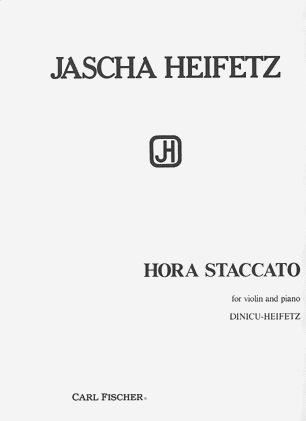 Carl Fischer Heifetz/Dinicu: Hora Staccato (violin & piano) FISCHER