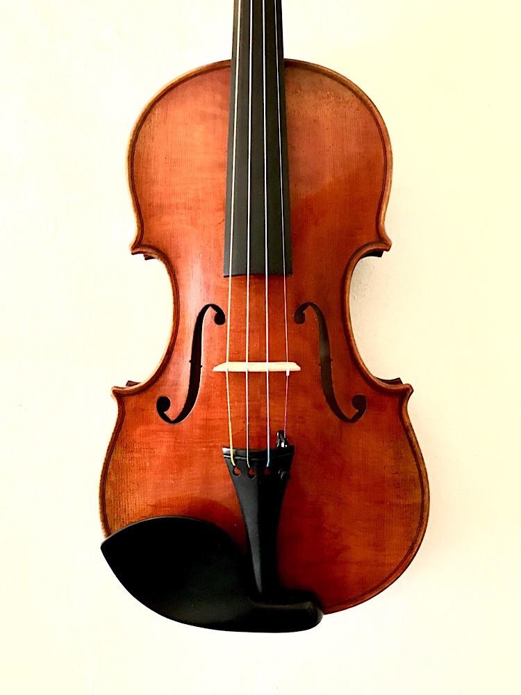 ALBERT NEBEL Eastman model 601 violin, GERMANY