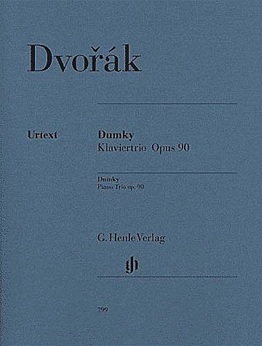 "HAL LEONARD Dvorak, A. (Döge, ed.): Trio in E minor, Op. 90, ""Dumky"", urtext (violin, cello, and piano)"