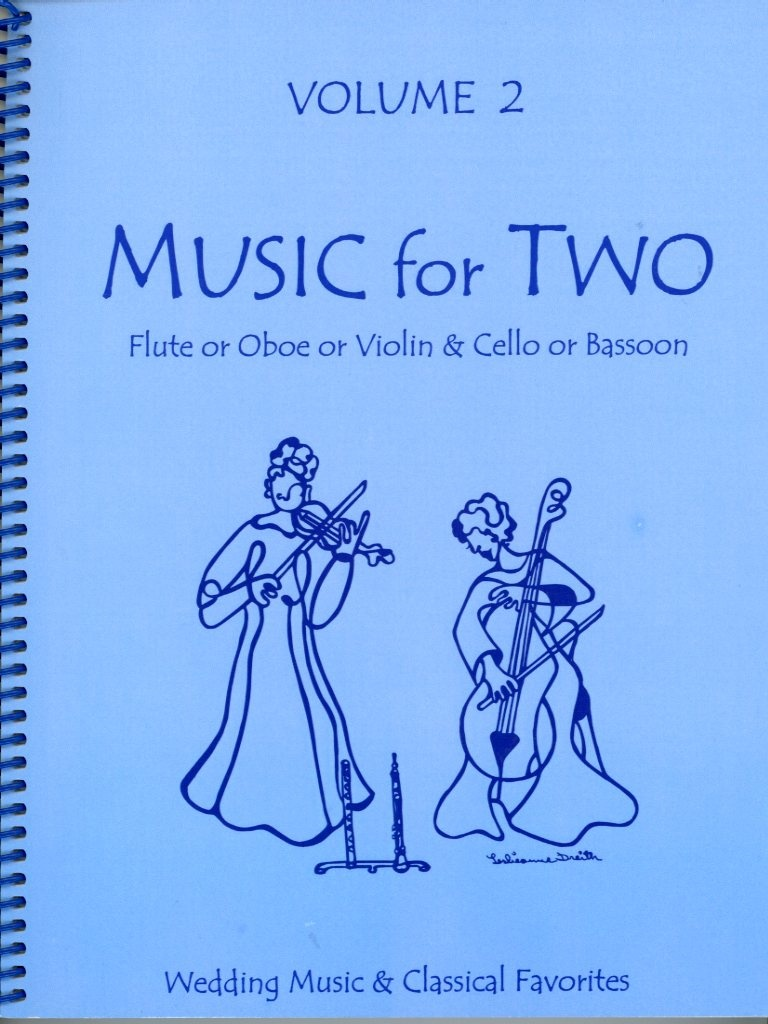 Last Resort Music Publishing Kelley: (collection) Music for Two, Vol.2 (violin/flute/oboe & cello/bassoon) Last Resort