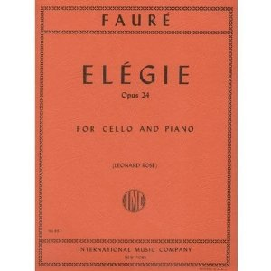 International Music Company Faure (Rose): Elegie, Op.24 (cello & piano)
