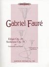 Faure, G.: Elegie, Op.24 & Sicilienne Op.78 (cello & piano)