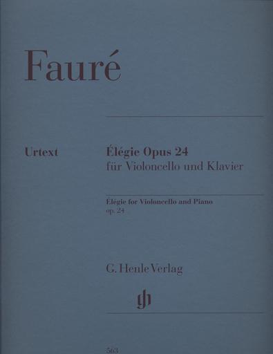 HAL LEONARD Faure, G.: Elegie Op. 24 - Urtext (cello, and piano)