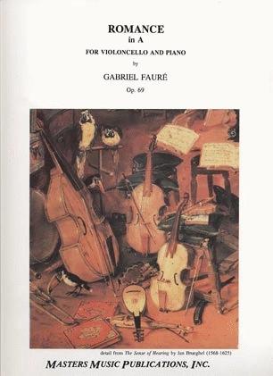 LudwigMasters Faure, Gabriel: Romance Op.69 (cello & piano)