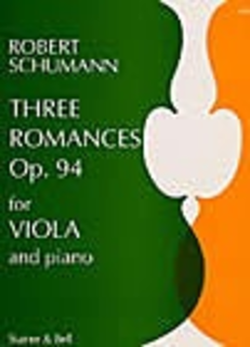 Stainer & Bell Ltd. Schumann, R.: Three Romances Op. 94 (viola & piano)