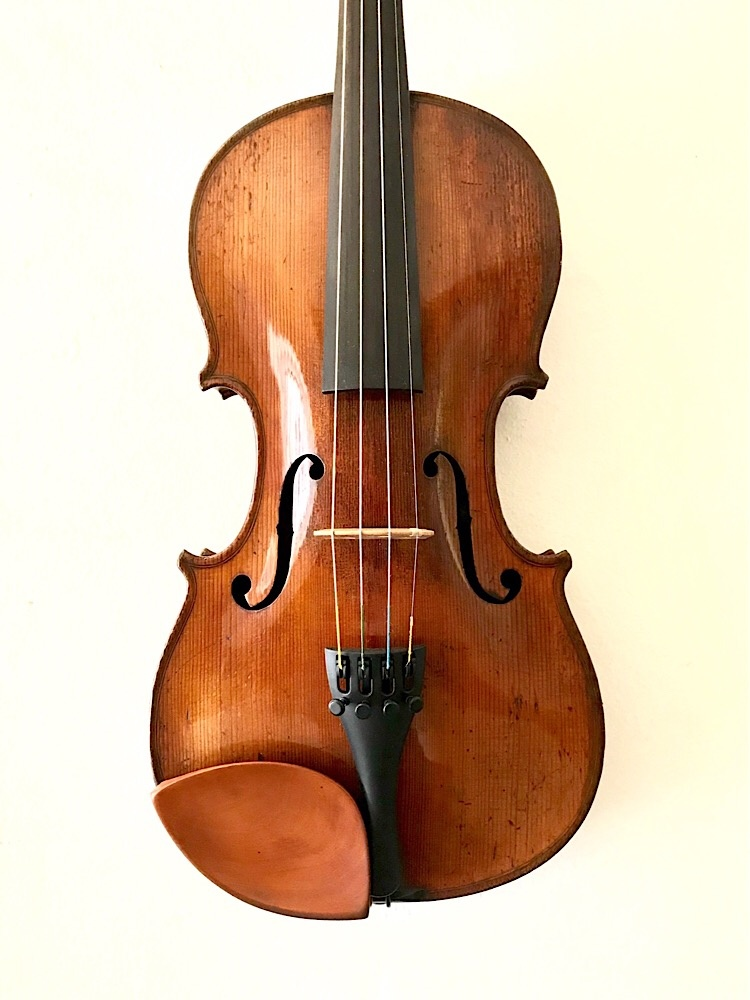 Jacobus Stainer 1665 label violin, ca 1900, GERMANY