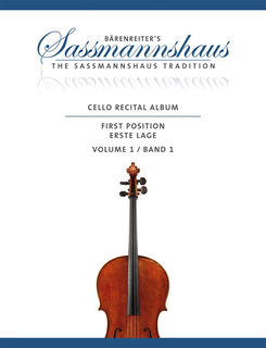 Barenreiter Sassmannshaus: (Collection) Cello Recital Album - First Position, Vol.1 (cello & piano/2 cellos) Barenreiter