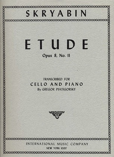 International Music Company Scriabin (Piatigorsky): Etude No.11, Op.8 (cello & piano) International