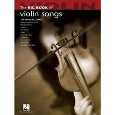 HAL LEONARD Big Book of Violin Songs (violin)