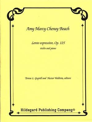 Carl Fischer Beach, Amy: Lento Espressivo (violin & piano)