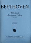 Beethoven, L.van (Brandenburg, ed.): Sonatas Vol. 1 (violin & piano)