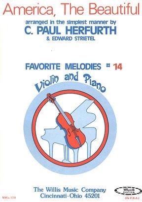 HAL LEONARD Herfurth: America (violin & piano)