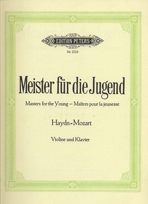 Hermann: Masters for the Young--Haydn/Mozart, Vol.1 (violin & piano)