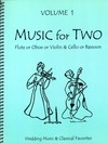 Last Resort Music Publishing Kelley: (collection) Music for Two, Vol. 1 (violin/flute/oboe & cello/bassoon) Last Resort