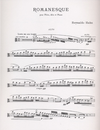 LudwigMasters Hahn, Reynaldo: Romanesque for flute, viola and piano