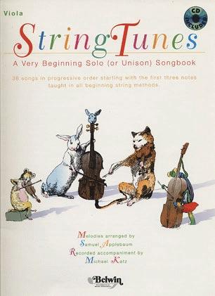 Alfred Music Applebaum, Samuel: String Tunes (viola & CD)